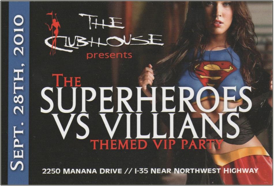 Superheroes VS. Villians